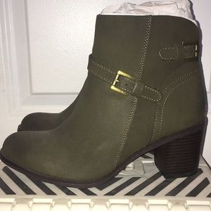 American Rag (Army Green - Ankle Boots)